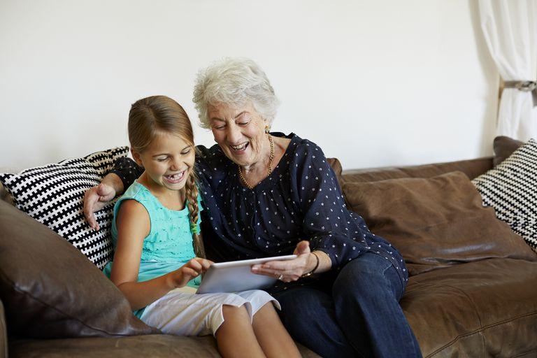 Grandma's rule of discipline teaches responsibility.