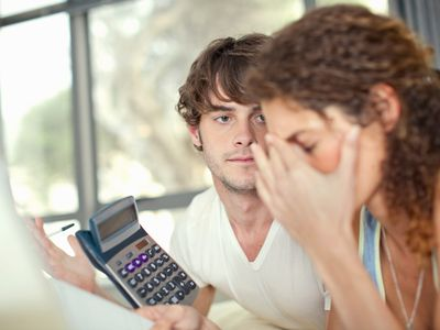 A couple worrying about how they will pay for IVF