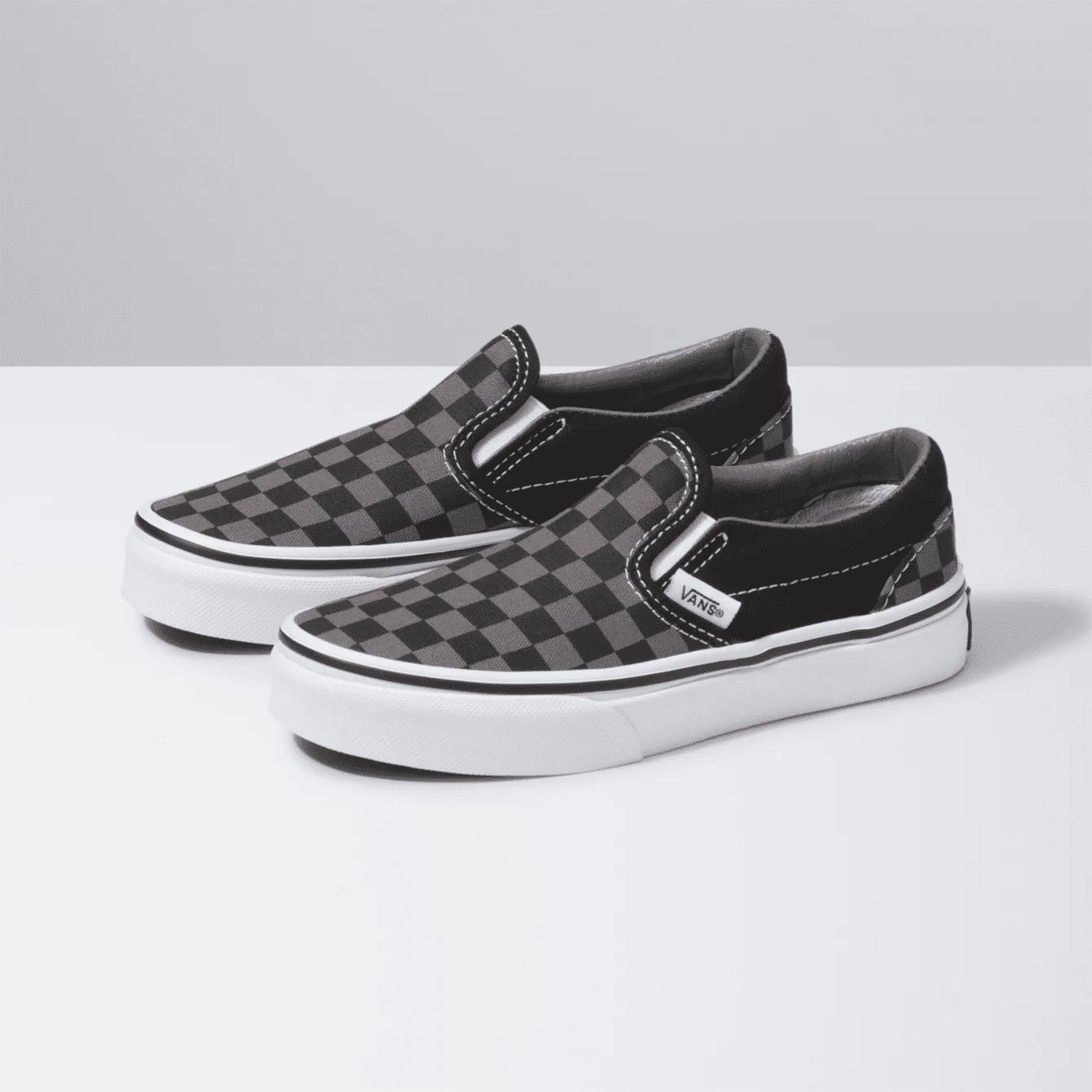 Vans Kids Checkerboard Slip Ons