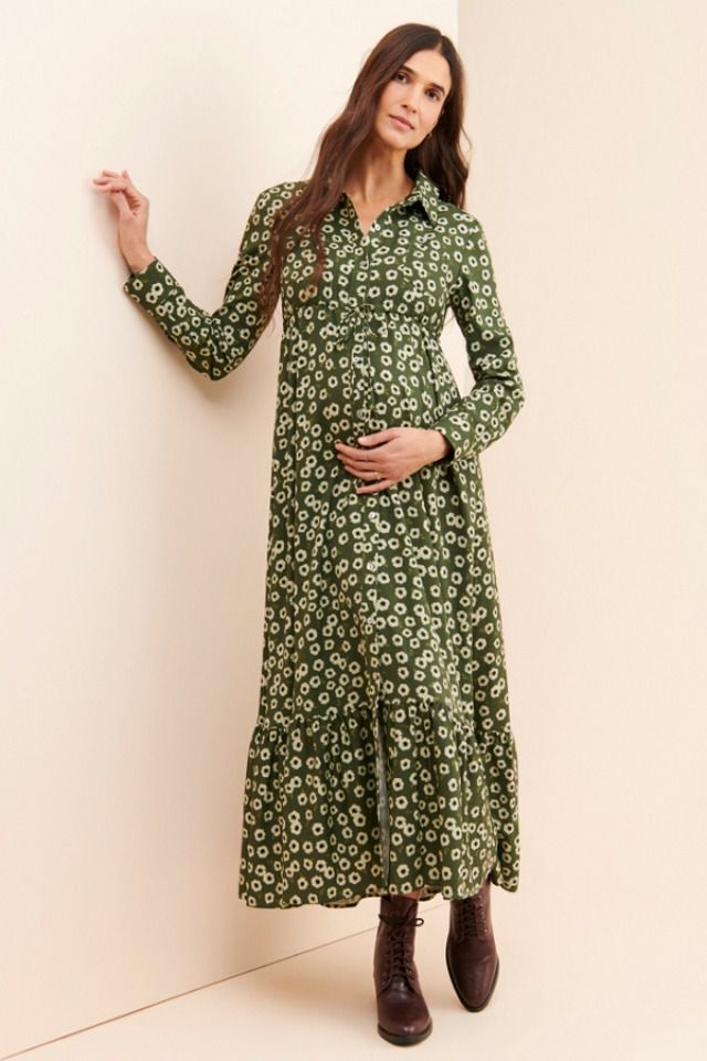 Nuuly Button front shirtdress