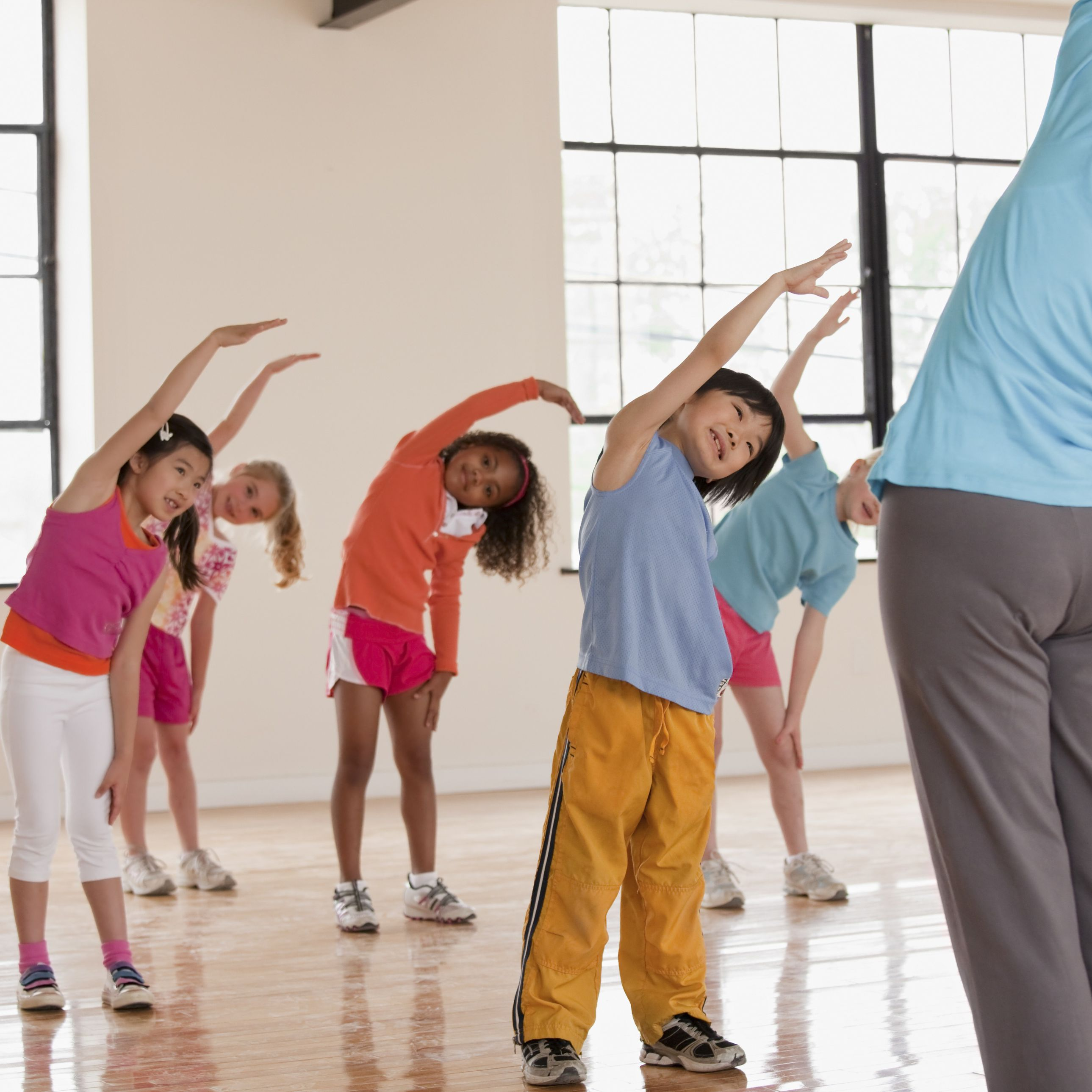Fun and Simple Stretches for Kids